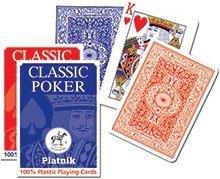 Classic Plastik Poker