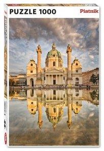 Puzzle Kościół Św. Karola w Wiedniu 1000el.