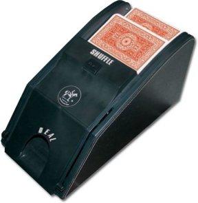 Maszynka do tasowania i podajnik w jednym
