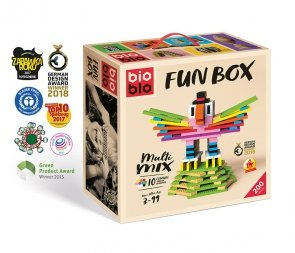 Bioblo 200 klocków Fun Box