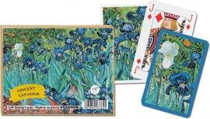 Karty Piatnik van Gogh, Irysy