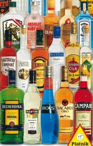 Puzzle Alkohole świata