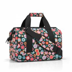 Torba allrounder M kolor Happy Flowers, firmy Reisenthel