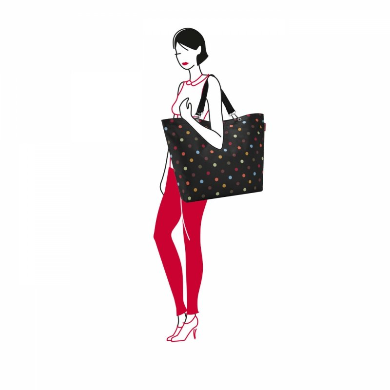 Torba na zakupy Shopper XL kolor Dots, firmy Reisenthel