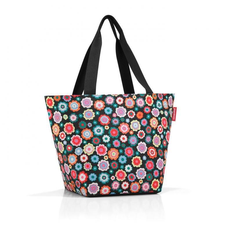 Torba na zakupy Shopper M kolor Happy Flowers, firmy Reisenthel