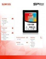 Dysk SSD Slim S55 120GB 2,5 SATA3 550/420 MB/s 7mm