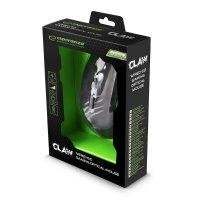 MYSZKA PRZEWODOWA DLA GRACZY 6D OPTYCZNA USB MX209 CLAW ZIELONA