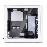 Focus G Window White 3.5 HDD/2.5'SDD uATX/ATX/ITX