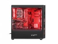 Obudowa Genesis Irid 300 USB 3.0 z oknem czerwone podświetlenie