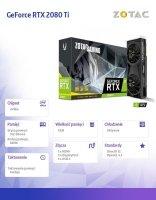 Karta graficzna GeForce RTX 2080 Ti 11GB GDDR6 352BIT 3DP/HDMI/USB-C