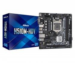 Płyta ASRock H510M-HDV /H510/DDR4/SATA3/USB3.0/PCIe4.0/s.1200/mATX