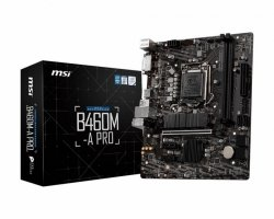Płyta MSI B460M-A PRO /B460/DDR4/SATA3/M.2/USB3.0/PCIe3.0/s.1200/mATX