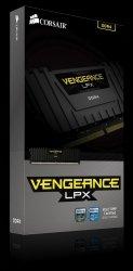 DDR4 Vengeance LPX 8GB/2400 BLACK CL14-16-16-31 1.20V XMP2.0
