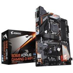 Płyta główna B360 AORUS GAMING 3 WIFI s1151 4DDR4 HDMI/DVI/USB 3.1 M.2 ATX