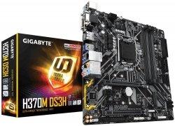 Płyta główna H370M DS3H S1151 4DDR4 HDMI/DVI/VGA/DP/USB 3.1 micro ATX