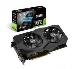 Karta graficzna GeForce RTX 2060 DUAL OC 6G EVO GDDR6 192BIT DP/HDMI*2/DVI-D