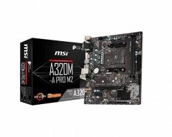 Płyta główna A320M-A PRO M2 AM4 2DDR4 VGA/DVI/HDMI M.2 mATX