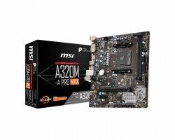 Płyta główna A320M-A PRO MAX 2DDR4 DVI/HDMI M.2 m-ATX