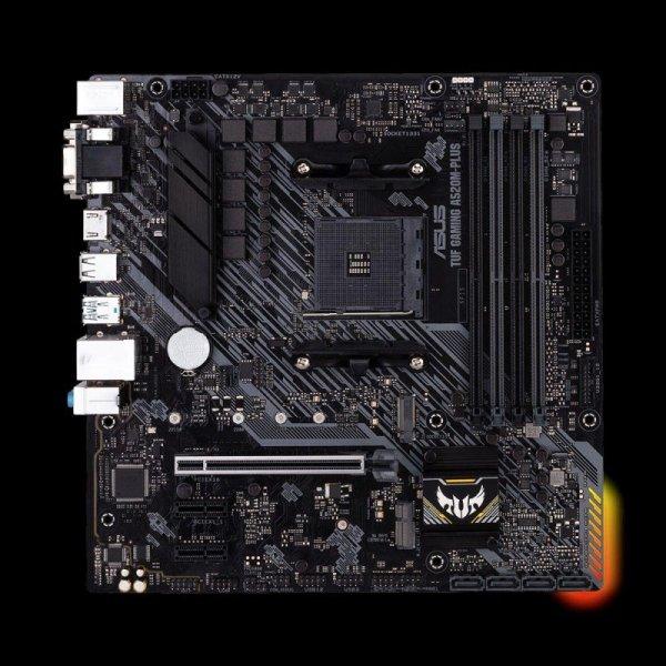 Płyta Asus TUF GAMING A520M-PLUS/AMD A520/SATA3/M.2/USB3.1/PCIe3.0/AM4/mATX