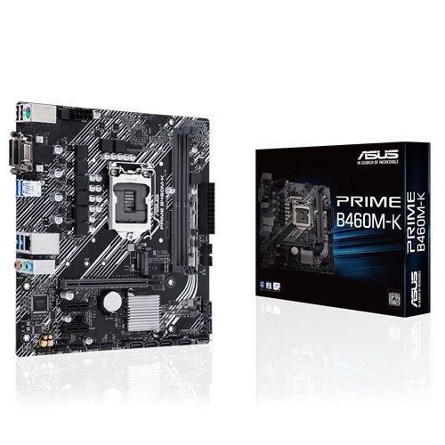 Płyta Asus PRIME B460M-K /B460/DDR4/SATA3/USB3.1/PCIe3.0/s.1200/mATX