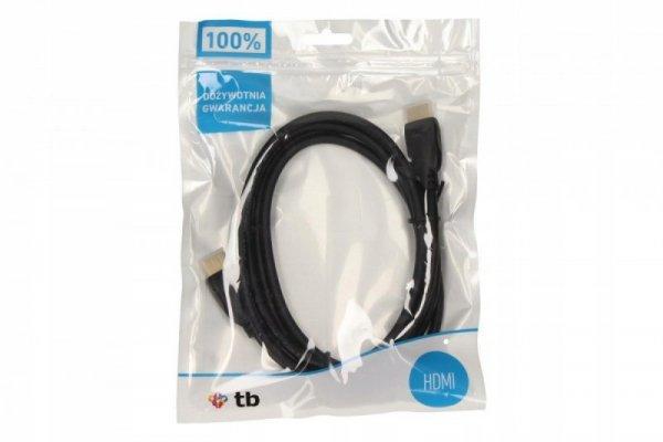TB Kabel HDMI-HDMI 1.4 pozłacany 3 m. (AKTBXVH1P14G30B)