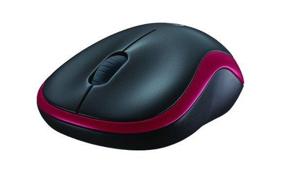 Mysz bezprzewodowa M185 910-002240 Red