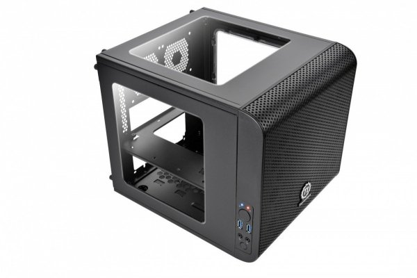 Core V1 MiniITX IS USB3.0 Window (1x200mm), czarna