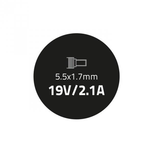 Zasilacz do Acer 40W | 19V | 2.1A | 5.5*1.7