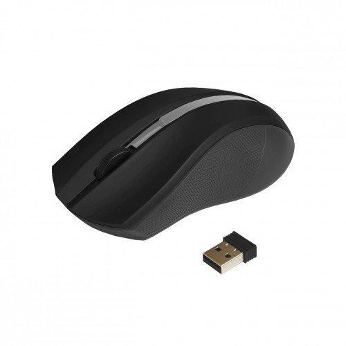 Mysz  bezprzewodowo-optyczna USB AM-97A czarna