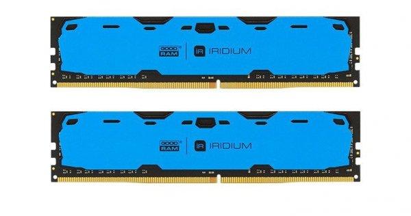 DDR4 IRIDIUM 8GB/2400(2 *4GB) 15-15-15 512*8 Niebieska