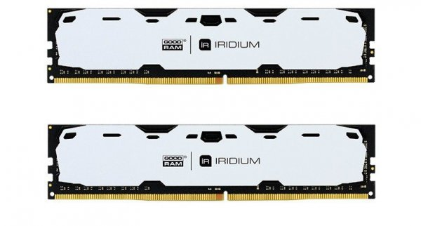 DDR4 IRIDIUM 16GB/2400 (2*8GB)1024*8 Biała