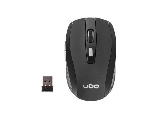 Mysz bezprzewodowa MY-03 2.4GHz 1800DPI optyczna czarna