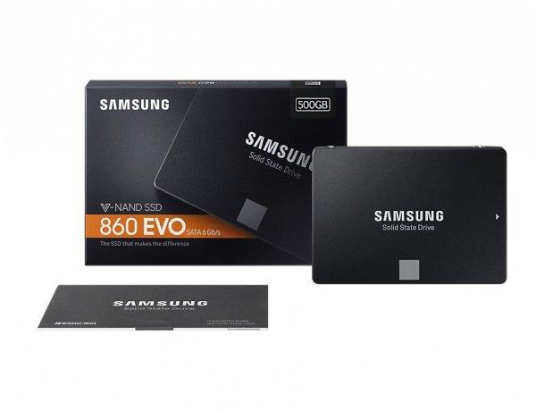 Dysk SSD 860EVO MZ-76E500B/EU 500GB