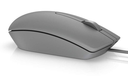Przewodowa mysz optyczna USB szara MS116