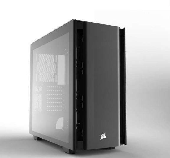 Obsidian Series 500D Premium Mid-Tower Case, Premium Tempered Glass and Aluminum