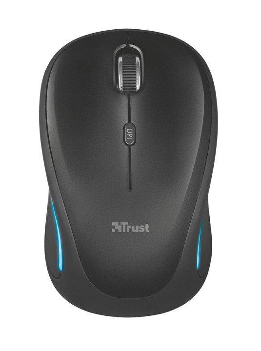 Mysz bezprzewodowa YVI FX czarna