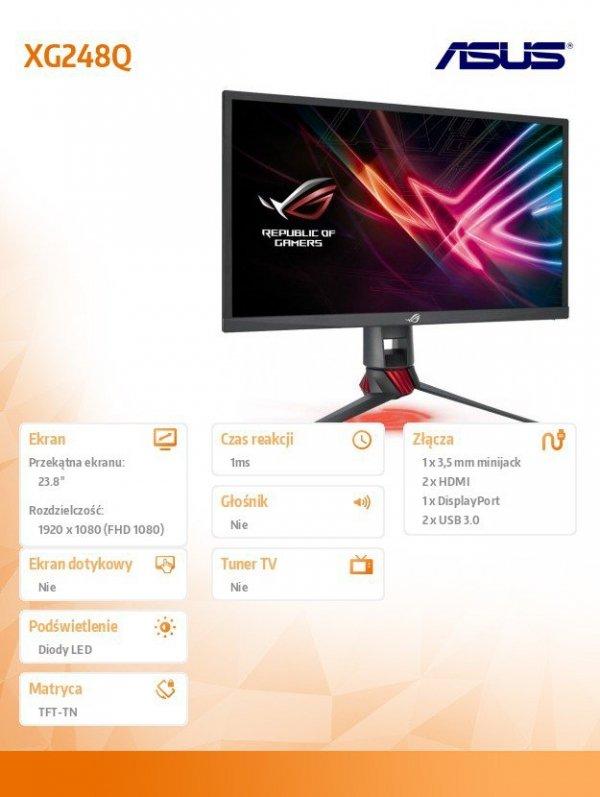 Monitor 24 XG248Q