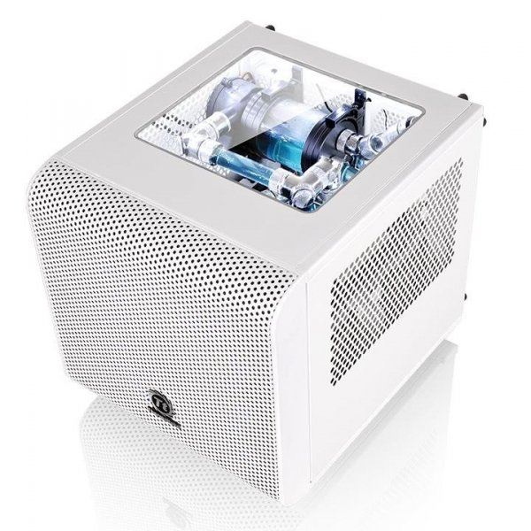 Obudowa Core V1 MiniITX Window - Snow Edition