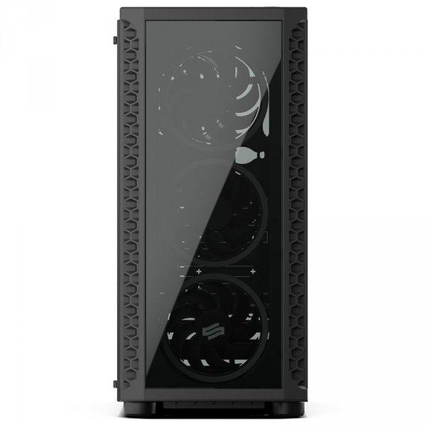 Obudowa Signum SG1X TG Pure Black