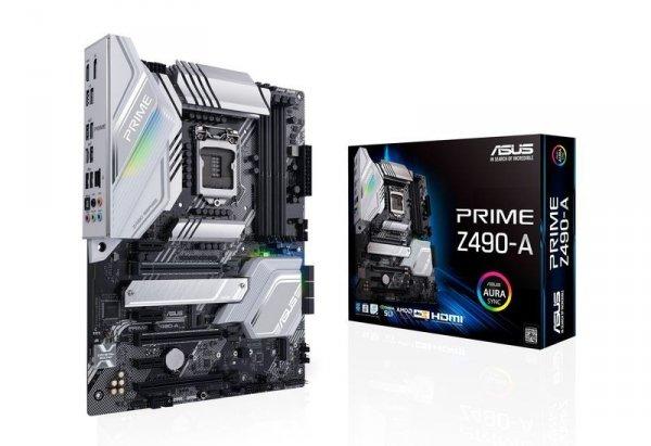 Płyta główna PRIME Z490-A s1200 4DDR4 HDMI/DP M.2 USB3.2 ATX