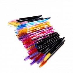 Pettini per ciglia di silicone mix colori  10 Pezzi