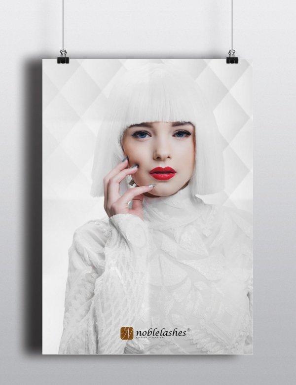 poster all white
