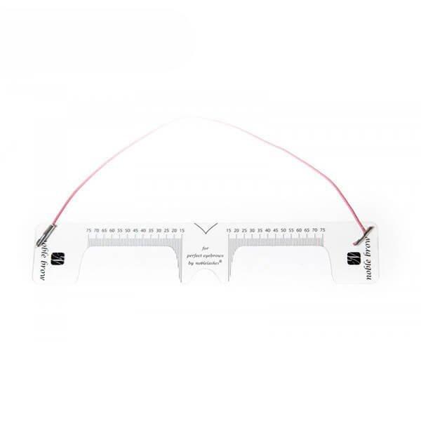 Righello elastico per la simmetria per sopracciglia