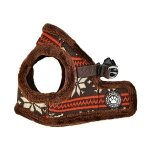 Vest-Harness PRANCER brown