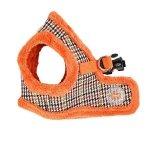 ocieplane szelki-kamizelka pomarańczowe od Puppia