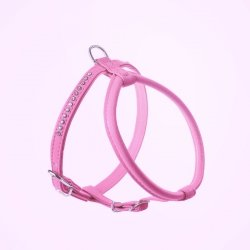 Harness MODERN ART ROUND pink