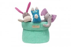 Luxury Toy Box COTTON mint