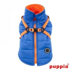 Jacket  MOUNTAINEER II blue with harness