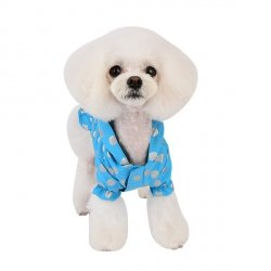 Waterproof dog jacket THRODORA blue