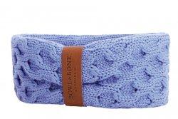 Dog chimney scarf JOY blue